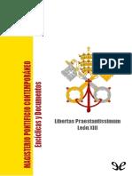 Libertas Praestantissimum - Papa Leon XIII