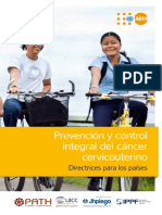 SPANISH - Cervical Cancer Guidance