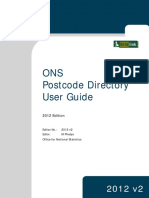ONSPD User Guide 2012 v2