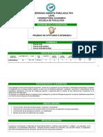 Psi-216 Pruebas de Aptitudes e Intereses i