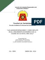 Trabajo de Investigación - Agroexportaciones y Crecimiento Económico.docx