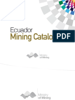 Ecuador Mining Catalog
