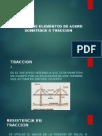 Exposicion Elementos de Traccion