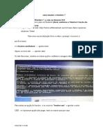 Tutorial de Como Consertar o Boot Do Windows