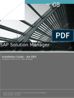 Sap Solution Manager - Installation Guide - Install Guide in Aix/DB2