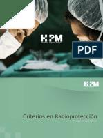 Criterios de Radioproteccion