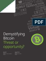 Lu Demystifying Bitcoin Threat Opportunity 102015