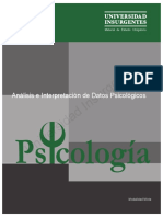 Análisis e Interpretación de Datos Psicológicos