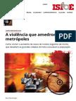 Raul Montenegro - A Violência Que Amedronta as Metrópoles - IsTOÉ Independente