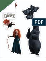 Brave Sticker Sheet