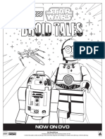 LEGO Droid Tales Activity Sheet