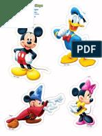 Mickey Friends Stickers