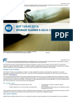 Iso IATF 16949 Upgrade Planner and Delta Checklist