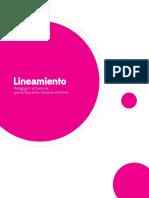 SED - Lineamiento Pedagogico y Curricular Para La Educacion Inicial 2013
