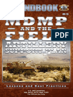 13-20 MDMP and the Field Artillery Support Plan HB