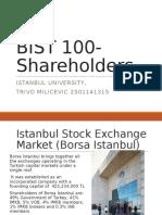 Bist 100 - Shareholders
