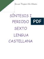 Síntesis I Periodo  Sexto
