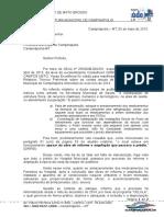 MODELO DE Ofício - Prefeito - Defesa TCE