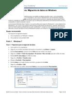 Migracion de Datos en Windows