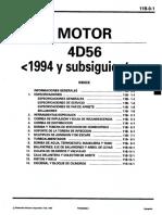Mitsubishi 4d56