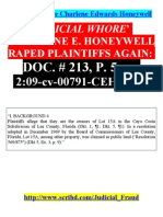 34160100 Judicial Whore C E Honeywell s Crimes