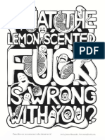 James Alexander Lemon Scented Fuck