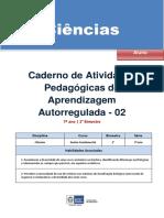 Ciencias Biologia Regular Aluno Autoregulada 7a 2b