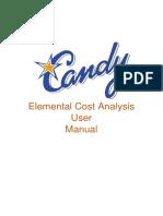 Elemental Cost Analysis User Manual