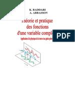 La Théorie Et de La Pratique Des Fonctions d'Une Variable Complexe