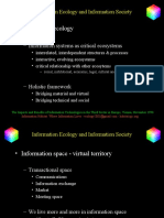 Information Ecology and Information Society