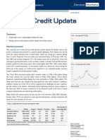 JUL 09 Danske Research Weekly Credit Update