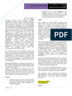 Case Digest on Property Law