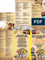 Daytona Beach Oyster Pub Menu