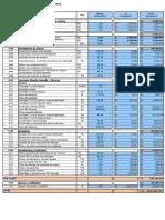 Presupuestos Obras Civiles PTAR PFK Rev1