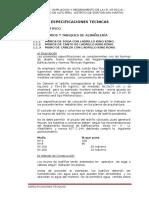 1 Especificaciones Tecnicas Arq
