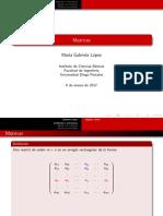 Clase Matrices UDP
