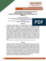 VIÑAS VALLVERDÚ, R. y J. ROSELL. 2009. Las representaciones rupestres de fauna de Cueva Pintada_los cérvidos.pdf
