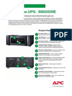 APC BI850SINE Catalogue