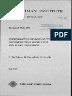 2D Euler Riemann Roe