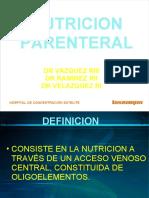 Nutricion Parenteral Total