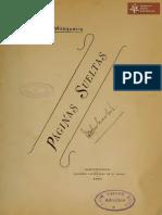 Páginas Sueltas de Silvano Mosqueira. Tall. Nac. Kraus. Asunción año 1907