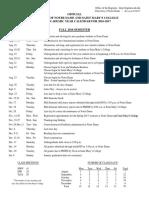 ,, 2016-17 Academic Calendar