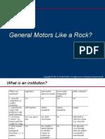 General Motors Rock
