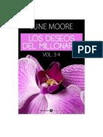Los Deseos Del Millonario- Vol.3-4- June Moore
