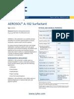Aerosol a-102 Pds 2014