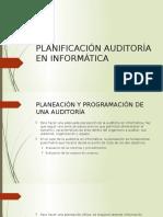 Clase II Planeación Auditoría Informática