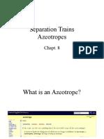 L7 Azeotropic Separations
