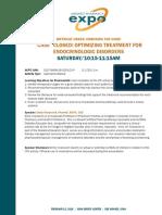 Case Closed Optimizing Treatment Endocrinologic Disorders