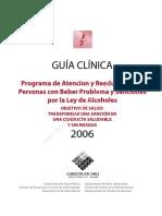 Guía Clínica Programa Ley de Alcoholes