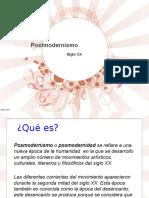 Posmodernismo 1